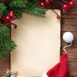 Letter for santa — Stock Photo #7560418