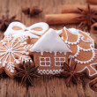 Gingerbread cookies — Stock Photo #7764440