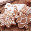 Gingerbread cookies — Stock Photo #7764483