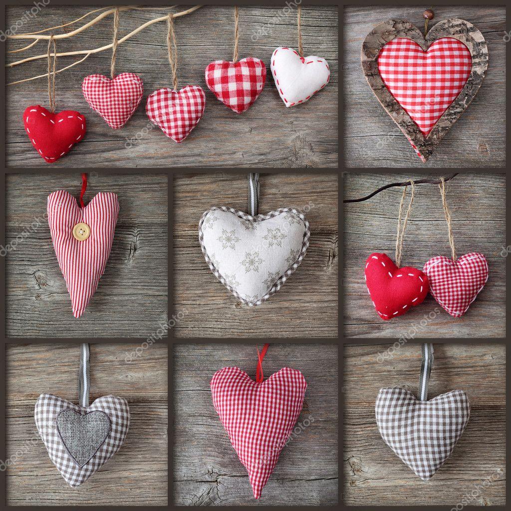 Сердечки из ткани своими руками картинки