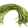 Long green beans — Foto Stock