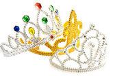Drei ausgefallene kronen — Stockfoto