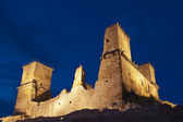 Diosgyor fort by night — Stock Photo