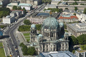 Aerial view of Cathedral — Stock Photo