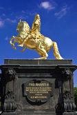 The Goldener Reiter (Golden Rider — 图库照片