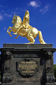 The Goldener Reiter (Golden Rider — Photo