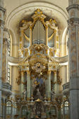 Interior of Frauenkirche — Stockfoto