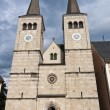 Постер, плакат: The Collegiate Church of St Peter and John the Baptist in Berchtesgaden