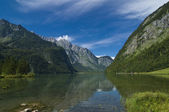 The famous Bavarian Königssee — Stock Photo