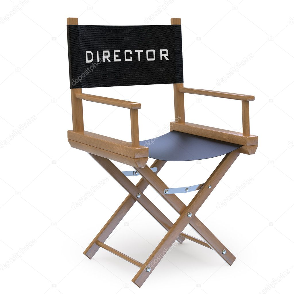 Film directors chair — Stock Photo © real_texelart #7626510