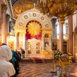 Stock Photo: KazCathedral in St. Petersburg iconostasis