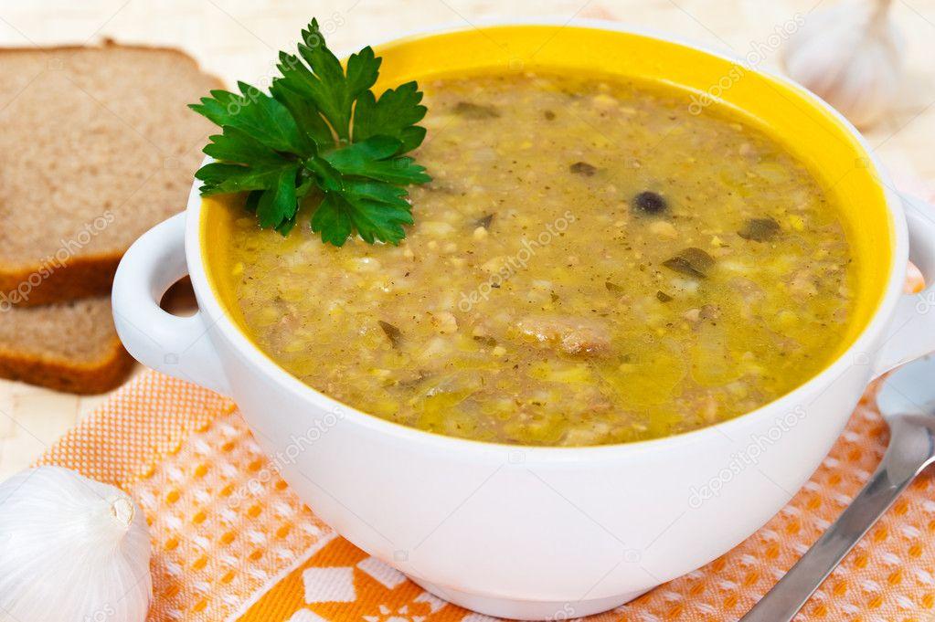 Суп-пюре для детей рецепт