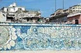 Havana murals — Stock Photo