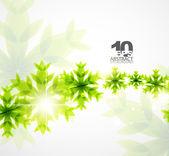 Zielona koncepcja boże narodzenie — Wektor stockowy
