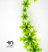 Green Christmas concept — Stock Vector