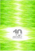 Fondo de hierba verde vector verano — Vector de stock