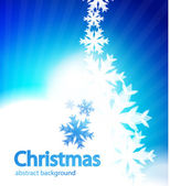 Shiny Christmas vector background — Stock Vector