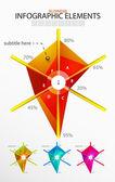 вектор инфографика — Cтоковый вектор