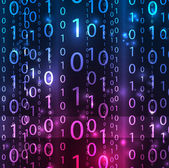 Vector matrix achtergrond — Stockvector