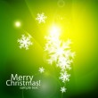 Shiny Chirstmas abstract background — Stock Vector