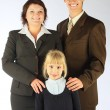Stock Photo: Business family