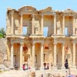 Romeinse bibliotheek van celsus — Stockfoto
