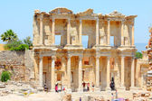 Roman Library of Celsus — 图库照片