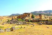 The ruins of the ancient city of Hierapolis — Stock Photo