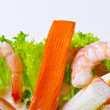 Shrimp salad — Stock Photo #6807133