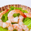 Shrimp salad — Stock Photo #6807304