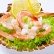 Shrimp salad — Stock Photo #6807344