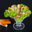 Stock Photo: shrimp salad