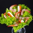 Shrimp salad — Stock Photo #6807573