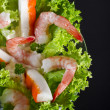 Shrimp salad — Stock Photo #6807612