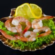 shrimp salad — Stock Photo