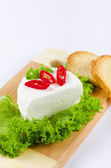 Curd (Polish Twarozek) — Stock Photo