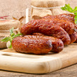 Stock Photo: Polish junipers sausage