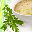zurek is a decent polish soup — Stock Photo