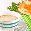 Zurek is a decent Polish Easter soup — Stock Photo #7806201