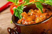 Hungarian goulash — Stock Photo