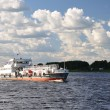 Tanker on Volga. — Stock Photo #7025024