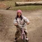 Bike child — Stock Photo #7644317