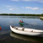 Lake fun — Stock Photo
