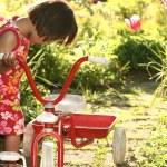 Child playing — Stock Photo