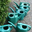 Stock Photo: Watering cans