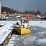 Winter in denmark — Stock Photo