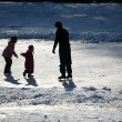Ice skating — Stock Photo #7645375