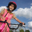Bike child — Stockfoto