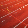 Running lane — Stock Photo