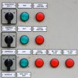 Electrical control pannel — Stock Photo